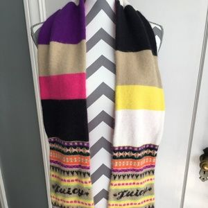 Juicy Couture Colorful Scarf